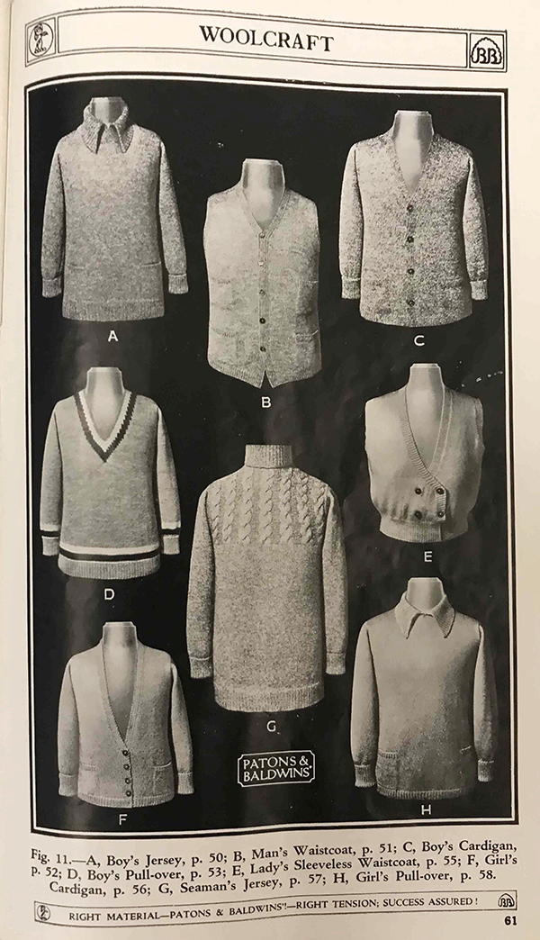 Woolcraft jumpers